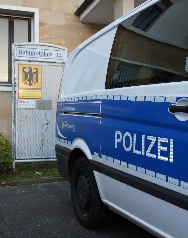 Das Bundespolizeirevier in Neustadt a.d. Weinstraße. (Foto: Holger Knecht)