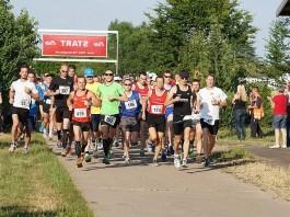 Läuferinnen und Läufer beim Gäulauf 2014