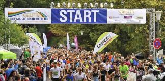 Start des GELITA Trail Marathon Heidelberg 2014 (Foto: www.rhein-neckar-picture.de)