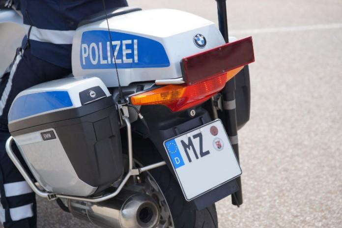 Symbolbild, Polizei, Mainz, Motorrad © Holger Knecht