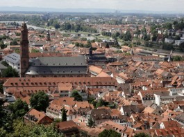 Blick auf die Heidelberger City