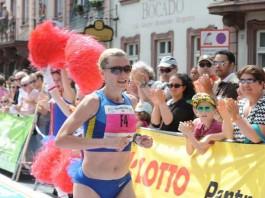Siegerin des Marathon bei den Frauen: Kateryna Karmanenko (Foto: Sportonline)