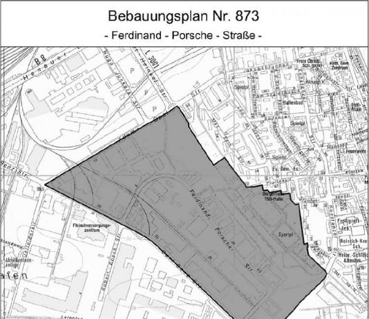 Bebauungsplan 873 'Ferdinand-Porsche-Straße' (Foto: Stadt Frankfurt am Main)