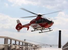 EC 135 im Landeanflug (Foto: DRF Luftrettung)