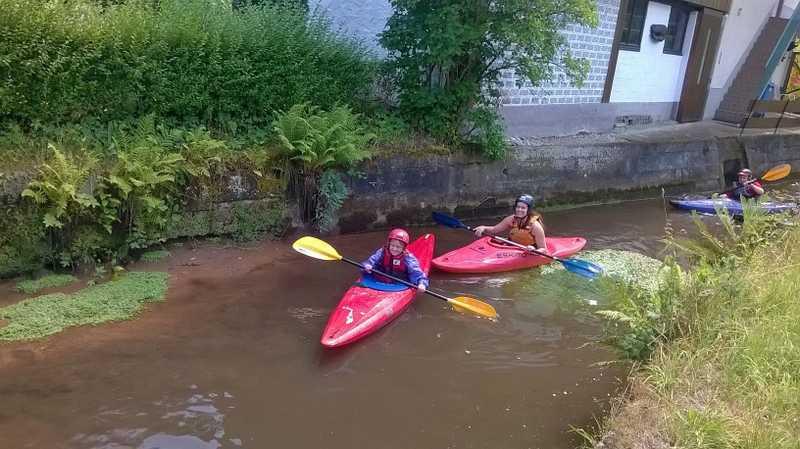 Ferienpass: Kajakfahrt auf der Wieslauter
