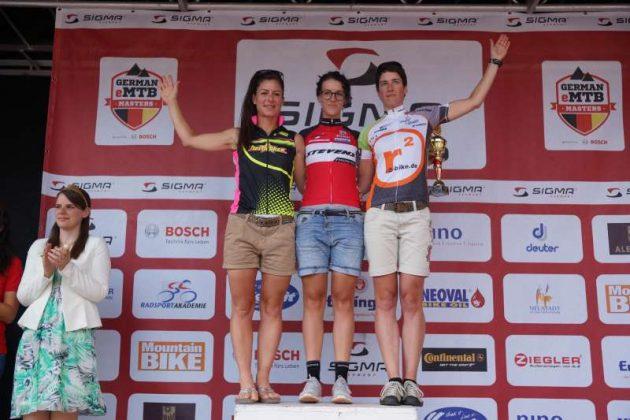 Die Siegerinnen der Mitteldistanz (Foto: Holger Knecht)