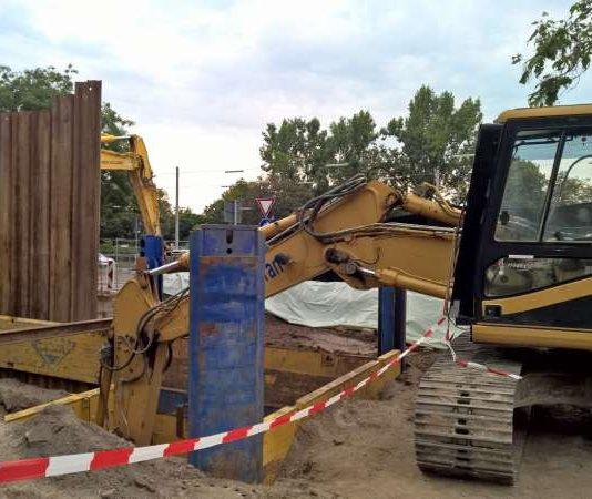 Arbeiten an Bombenverdachtspunkten für diese Woche abgeschlossen – keine Entschärfung am kommenden Sonntag (Foto: Stadt Mannheim)