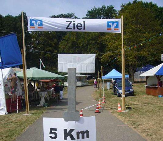 In Pforzheim mussten ca. 5,5km gelaufen werden (Foto: Hannes Blank)