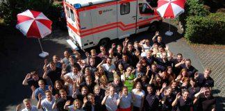 57 junge Frauen und Männer haben ihre Ausbildung zum Notfallsanitäter begonnen. (Foto: Malteser Hilfsdienst)