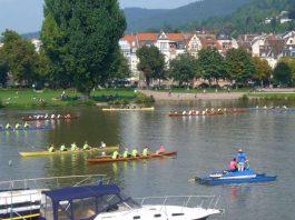 """""""Rudern gegen Krebs"""" ist eine der vielen erfolgreichen Zusammenarbeiten von NCT mit einem Heidelberger Sportverein, in diesem Fall mit der Heidelberger Rudergesellschaft (Foto: Hannes Blank)"""