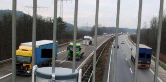 Abstandsmessanlage (Foto: Polizei)