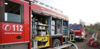 Foto von der Jahresinspektionsübung 2014 der Feuerwehr Neustadt (Foto: Holger Knecht)