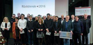 Preisverleihung der RŸückblende 2016, dem deutschen Preis fŸr politische Fotografie und Karikatur, am 23.01.2017 in der Landesvertretung Rheinland-Pfalz in Berlin. (Foto: Anikka Bauer)