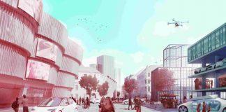 Autonom agierende Fahrzeuge werden unsere Städte grundlegend verändern. Doch nicht nur die Beeinflussung der baulichen Strukturen steht im Fokus des neuen Förderprojekts AVENUE21, sondern gerade auch die Veränderung im gesellschaftlichen Gefüge des öffentlichen Raums. (Grafik: Daimler und Benz Stiftung/expressiv.at)