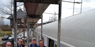 Bahnwagen Sanierung Bingen