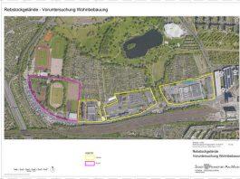 Rebstock Rahmenplan Luftbild (Quelle: Stadt Frankfurt)