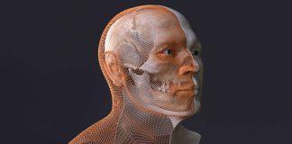 Gesichtsrekonstruktion eines circa 35–40 Jahre alten Mönchs aus dem Kloster Lorsch, der zwischen 888 und 966 n. Chr. gelebt hat. (Quelle: UNESCO Welterbe Kloster Lorsch)
