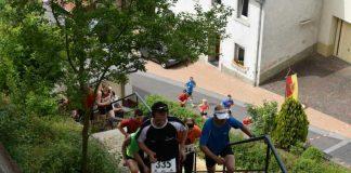 Macht Spaß und hält fit. Der Treppenlauf in Grumbach