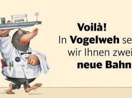 Ankündigung (Quelle: Deusche Bahn)