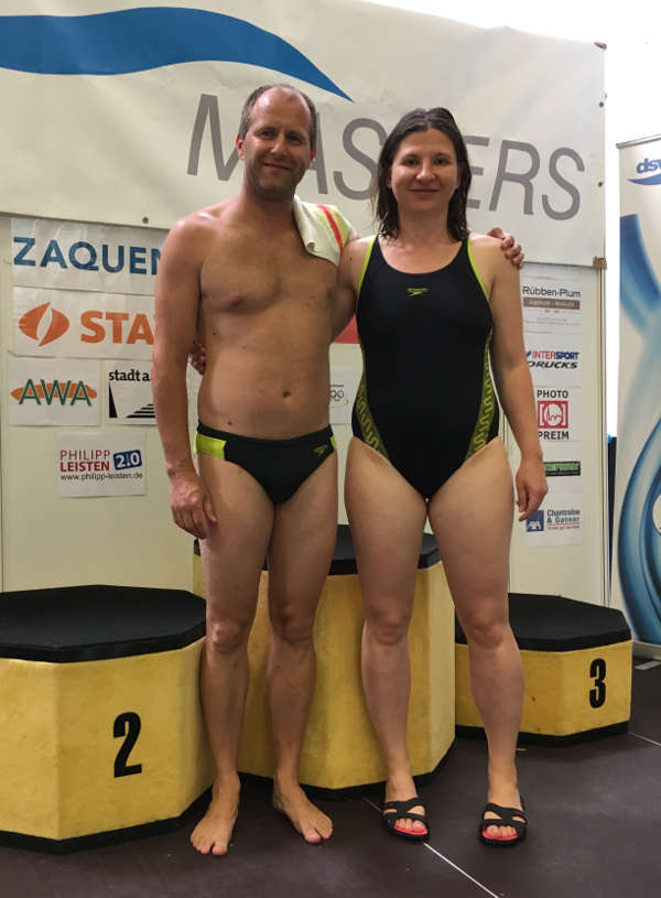 Robert Laxa und Manuela Pach (Foto: SSC)