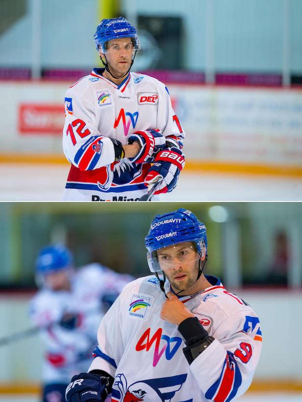 Mathieu Carle und Brent Radecke (Foto: AS-Sportfoto / Sörli Binder)