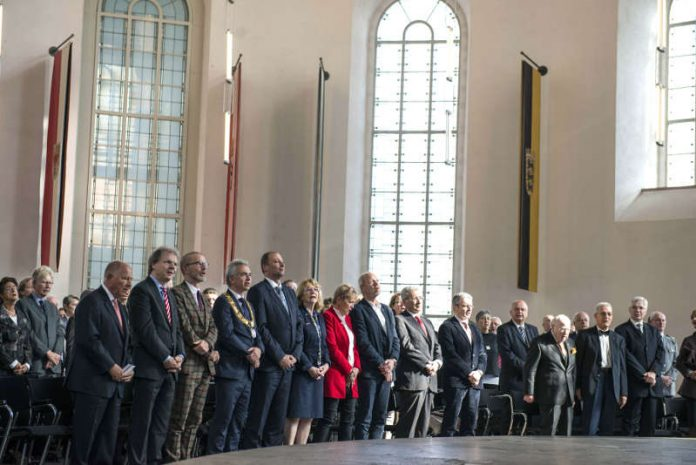 Festakt in der Paulskirche zum Tag der Deutschen Einheit (Foto: Heike Lyding)