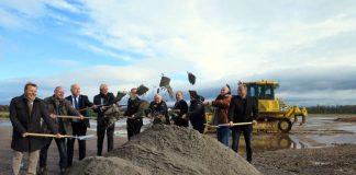 Im Frühjahr 2019 soll der neue Sportpark fertig sein. (Foto: Stadtverwaltung Neustadt)