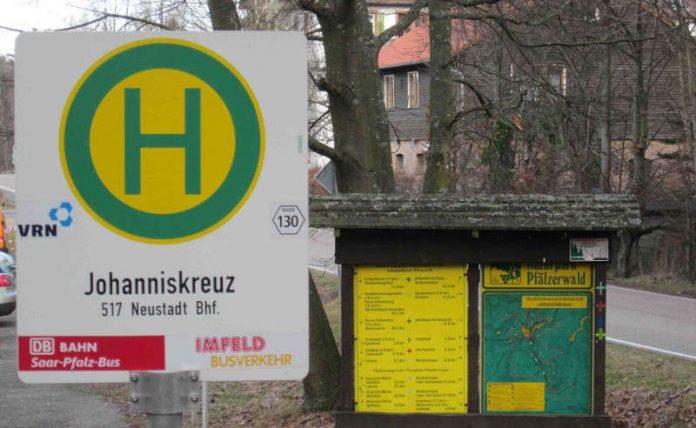 Das Forstamt Johanniskreuz bittet Besucher die Pendelbusse zu nutzen und die geänderte Verkehrsführung zu beachten (Foto: Haus der Nachhaltigkeit)
