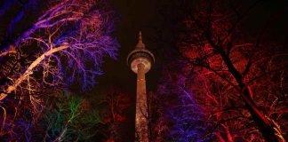 Winterlichter im Luisenpark Mannheim (Foto: Holger Knecht)