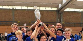 Siegerteam TH-Gymnasium (Quelle: bfv)
