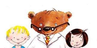 Brummel, das Maskottchen der Kinder-Uni Medizin, lädt zu spannenden Vorlesungen ein. (Quelle: UMM)