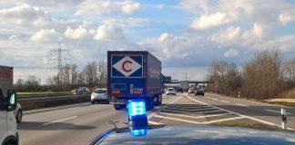 Viel Verkehr auf der A 61 (Foto: Polizei RLP)