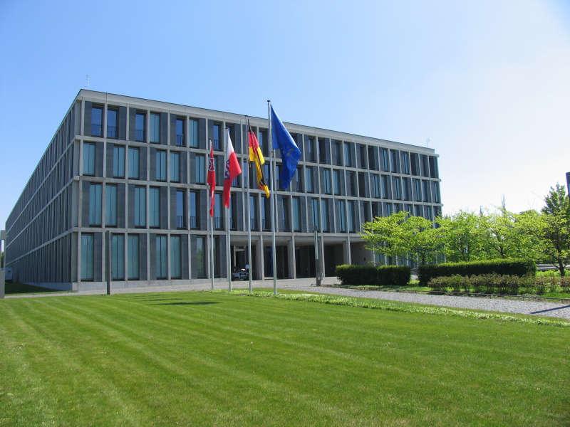Das Bundesarbeitsgericht in Erfurt (Foto: BAG)