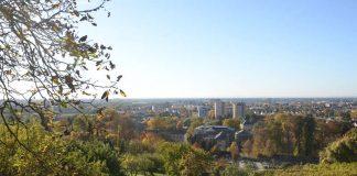 Blick vom Eckweg auf Heppenheim (Foto: Karlheinz Mulzer)