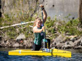 Sophie Koch will im Canadierzweier den Sprung ins WM-Team schaffen (Foto: GES/Rheinbrüder)