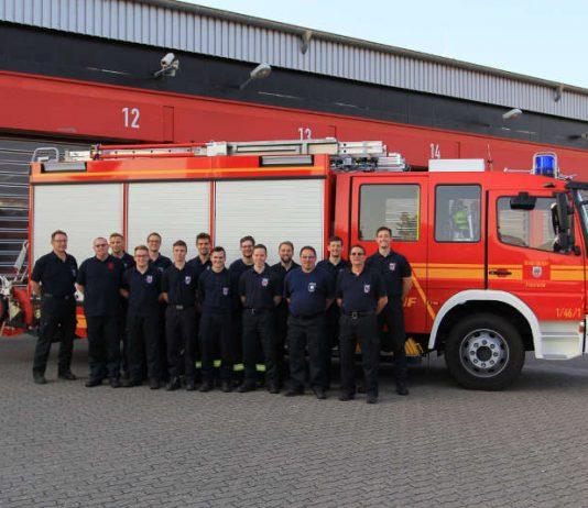 Die Lehrgangteilnehmer (Foto: Feuerwehr Speyer)