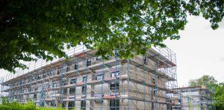 Zwei neue Mehrfamilienhäuser mit 35 Mietwohnungen werden gebaut (Foto: Stadt Frankfurt / Heike Lyding)