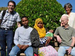 Somalische Kleinfamilie