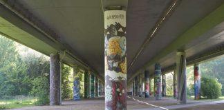 Graffiti-Galerie im Grüngürtel (Foto: Stefan Cop)