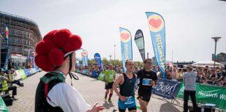 2019 mit der Deutschen Halbmarathon-Meisterschaft (Foto: Baschi Bender)
