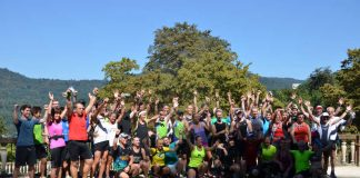 Die jährlichen Vorbereitungsläufe zum GELITA Trail Marathon sind bei Sportlern und Sportlerinnen beliebt, um die Strecke vor dem großen Rennen auszutesten. (Foto: GELITA)