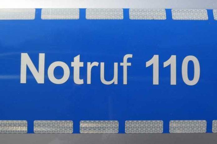 Symbolbild, Notruf 110