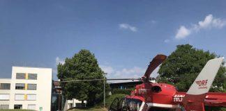 Der Hubschrauberlandplatz am Standort Buchen der Neckar-Odenwald-Kliniken wurde gemäß aktueller Anforderungen umgebaut. Nun wurde das Projekt offiziell abgeschlossen. (Foto: Neckar-Odenwald-Kliniken)
