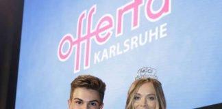 Alexander Speiser aus Karlsruhe und Nadine Berneis aus Stuttgart sind die strahlenden Sieger des Abends. (Foto: KMK, Jürgen Rösner)