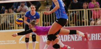 Die Mühe vergebens: VCW verliert gegen Münster (Foto: Detlef Gottwald)