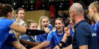 Nach dem Erfolg in Potsdam geht der VCW positiv ins Spiel gegen Stuttgart (Foto: Detlef Gottwald)