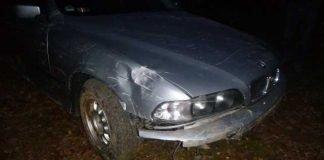 Verunfallter BMW