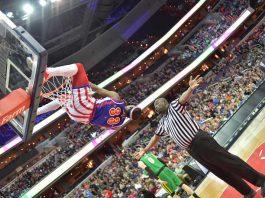 Bull Bullard - Harlem Globetrotters vs. Washington Generals, Washington, DC am 17.03.18 (Foto: Brett Meister)