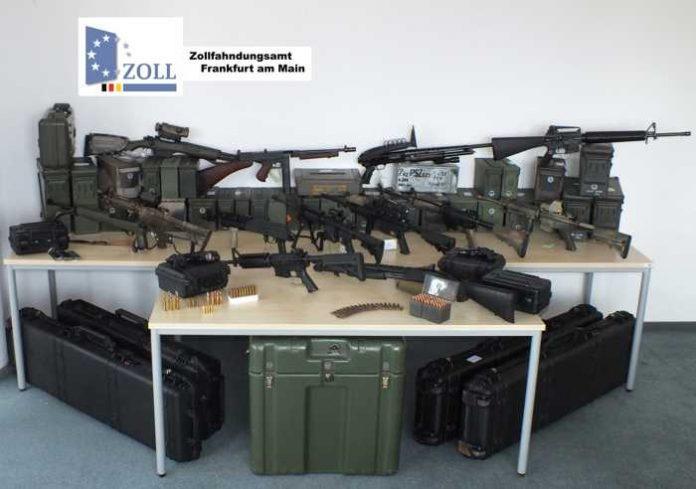 Waffenarsenal in Rheinland-Pfalz entdeckt