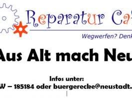 Symbolbild Reparatur Café (Quelle: Stadtverwaltung Neustadt)